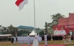 Wakil Gubernur Pimpin Upacara Kemerdekaan di Sanaman Mantikai