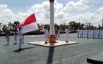 Bupati Sukamara Pimpin Apel HUT Kemerdekaan RI
