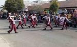 112 Peserta Meriahkan Lomba Gerak Jalan HUT Sukamara