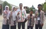 Ini Raihan Kontingen Kabupaten Kapuas Pada Kompetisi Sains Madrasah Tingkat Provinsi