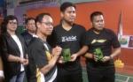 Markis Kido dan Irfan Ramaikan Pembukaan Kejuaraan Bulutangkis Bupati Cup di Katingan