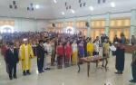 25 Anggota DPRD Kabupaten Gunung Mas Masa Bakti 2019 - 2024 Ucapkan Sumpah Janji