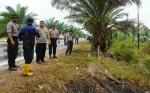 Kapolres Kotawaringin Timur Cek Lokasi Kebakaran Lahan