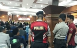 Polres Kotawaringin Barat Siagakan Puluhan Personil Amankan Pelantikan Anggta DPRD