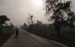 Palangka Raya Kembali Diselimuti Kabut Asap