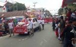 Ribuan Warga Kotawaringin Barat Padati Jalanan Saksikan Festival Merah Putih