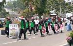 DLH Sukamara Usung Tema Setop Bakar Lahan pada Pawai Pembangunan