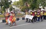 Dinas Kesehatan Sukamara Usung Tema Stunting pada Pawai Pembangunan