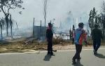 Kebakaran Lahan Gambut Hanguskan Rumah Tak Berpenghuni
