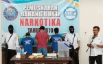 Pengungkapan Kasus Narkoba oleh BNNP Sudah Melebihi Target