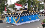 Dishub Sukamara Raih Juara Favorit pada Pawai Pembangunan