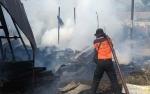 Dua Rumah Terbakar di Jalan G Obos