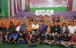 Bupati Murung Raya Buka Turnamen Bulutangkis PBSI Cup II Open
