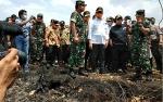 Video Kapolri, Panglima TNI dan Menko Polhukam Tinjau Karhutla di Palangka Raya