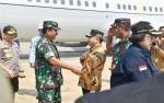 Gubernur Sambut Kedatangan Kapolri dan Panglima TNI