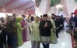 Video Bupati Kobar Hj Nurhidayah dan H Ruslan AS Sapa Tamu Pernikahan Jery dan Natasha