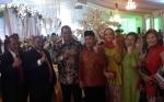 Tamu Undangan dari Pejabat Provinsi Kalteng Mulai Berdatangan di Pernikahan Jery - Natasha