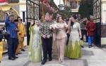 Ini Video Kirab Arak-arakan Pengantin Jery Borneo dan Natasha Cinta Vinski