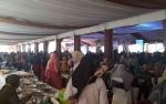 Pernikahan Jery Borneo Putra dan Natasha Cinta Vinski Jadi Pesta Rakyat