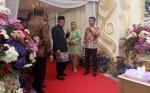 Ratusan Petugas Gabungan Amankan Resepsi Pernikahan Jery Borneo - Natasha