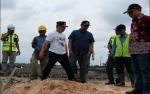 Gubernur Tinjau Pembangunan Jembatan Layang Pangkalan Bun - Kotawaringin Lama