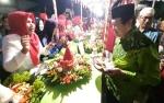 Ribuan Warga Kelurahan Sawahan Makan Tumpeng Bersama Meriahkan Semarak Kemerdekaan RI