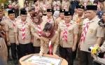 Gubernur Kalteng Bersama Yulistra Ivo Azhari Tandatangani Prasasti Perkemahan Wirakarya