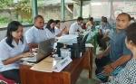 Dinas PMPTSP Kabupaten Gunung Mas Lakukan Jemput Bola ke Kecamatan Tewah
