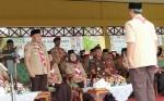 Gubernur Kalteng Pimpin Upacara Peringatan Hari Pramuka