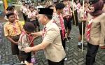 Gubernur Kalteng Ingatkan Pramuka Wadah Membentuk Karakter