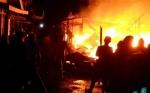 6 Kepala Keluarga Jadi Korban Musibah Kebakaran di Kompleks Pasar Keramat Sampit