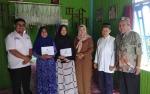 Baznas Sukamara Berikan Bantuan Kepada Korban Kebakaran di Komplek Pasar Saik