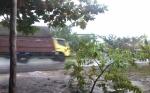 Hujan Bantu Proses Pemadaman Kebakaran Lahan di Katingan