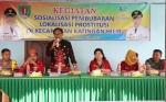 Wakil Bupati Lanjutkan Sosialisasi Penutupan Lokalisasi di Km 19 Hampalit