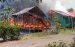 Ditinggal ke Sawah, Rumah Warga Saka Pinang Terbakar
