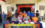 Polres Barito Utara Gelar Konferensi Pers Tiga Kasus Tindak Pidana