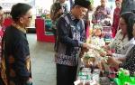 Sekda Kalteng Tinjau Produk Unggulan Desa