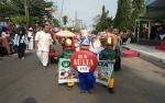 127 Peserta Ikuti Pawai Taaruf Tahun Baru Islam di Sampit