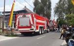 Kebakaran Nyaris Ludeskan Gudang Toko Bangunan, Diduga Akibat Vapor