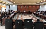 DPRD Kapuas Gelar Rapat Gabungan Penyampaian Komposisi dan Nama Fraksi