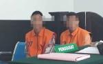 Dua Pemuda Pencuri Buah Sawit Menjalani Persidangan
