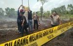 Polres Kotawaringin Timur Selidiki Kebakaran Lahan di Areal Perusahaan