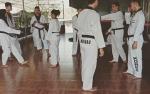 Pelatih Juana Wangsa Putri Motivasi Atlet Taekwondo Kalteng Jelang Pra-PON