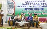 Jemaah Haji Kloter 8 Kalteng Tiba di Embarkasi Banjarmasin