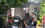 Kebakaran Hanguskan Sebuah Rumah Pensiunan PNS di Jalan Rajawali VIII Palangka Raya