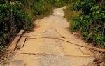 Warga Minta Jalan dan Jembatan Rusak di Desa Jamut Ditangani