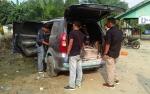 Mobil Toyota Avanza Terbakar selepas Isi BBM di SPBU Jalan Lintas Pulang Pisau