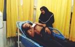 Rizky Andira Dibacok Tiga Pemuda Misterius di Palangka Raya
