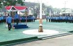 SOPD Lingkup Barito Utara Gelar Apel Persiapan Resepsi Pernikahan Putri Bupati Nadalsyah