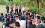 Polsek Kapuas Barat Sosialisasi Larangan Membakar Lahan ke Siswa SMA